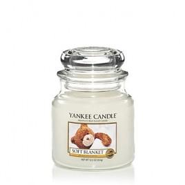 """soft blanket"" Yankee Candle Orta Boy Kavanoz Mum 1173564E"