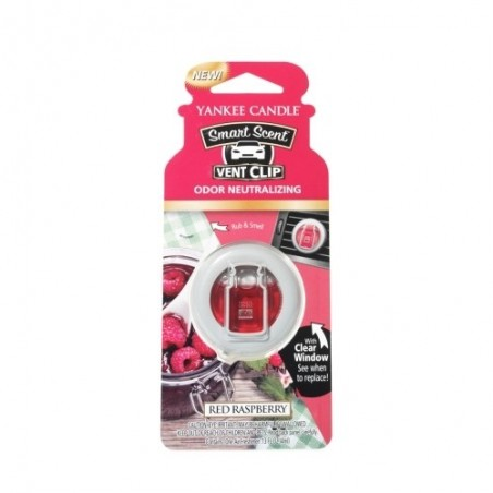 """red raspberry"" Yankee Candle Araç Kokusu"