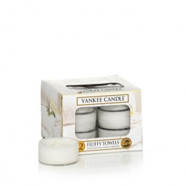 """fluffy towels"" Yankee Candle Tea Light Mum"