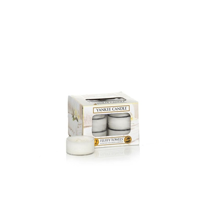 """fluffy towels"" Yankee Candle Tea Light Mum 1205384"