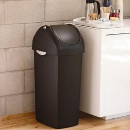 simplehuman® 60lt plastik sallanan kapak çöp kutusu