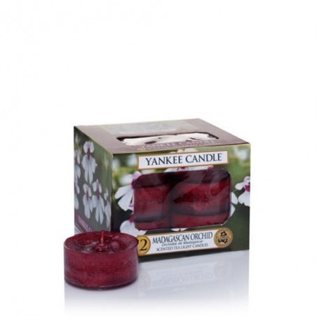 """madagascan orchid"" Yankee Candle Tea Light Mum"