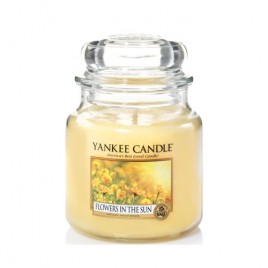"""flowers in the sun"" Yankee Candle Orta Boy Kavanoz Mum"