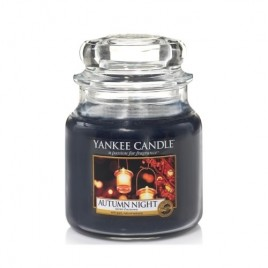 """autumn night"" Yankee Candle Orta Boy Kavanoz Mum"