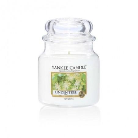 """linden tree"" Yankee Candle Orta Boy Kavanoz Mum"