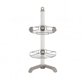 simplehuman® ayarlanabilir köşe duş rafı BT1064