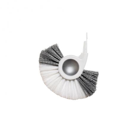 simplehuman® beyaz tuvalet fırçası yedek başlık
