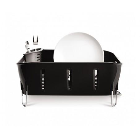 simplehuman | plastik compact bulaşıklık, siyah