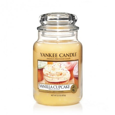 """Vanilla cupcake"" Yankee Candle Büyük Boy Kavanoz Mum 1093707E"