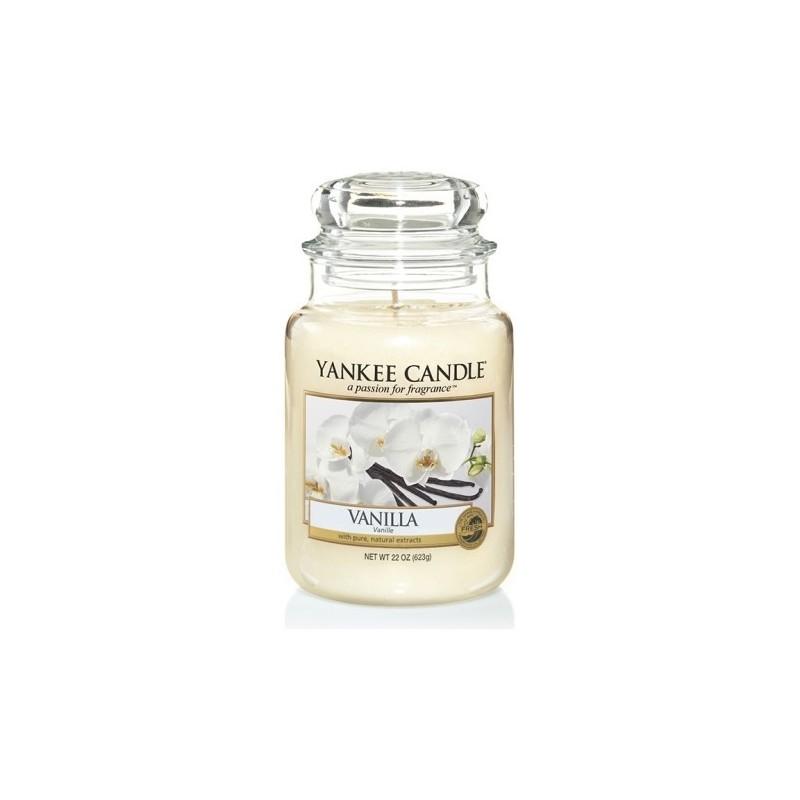"""Vanilla"" Yankee Candle Büyük Boy Kavanoz Mum 1507743E"