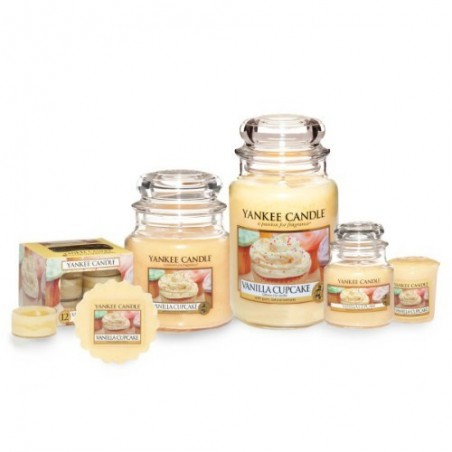 """Vanilla cupcake"" Yankee Candle Tea Light Mum 1093710E"