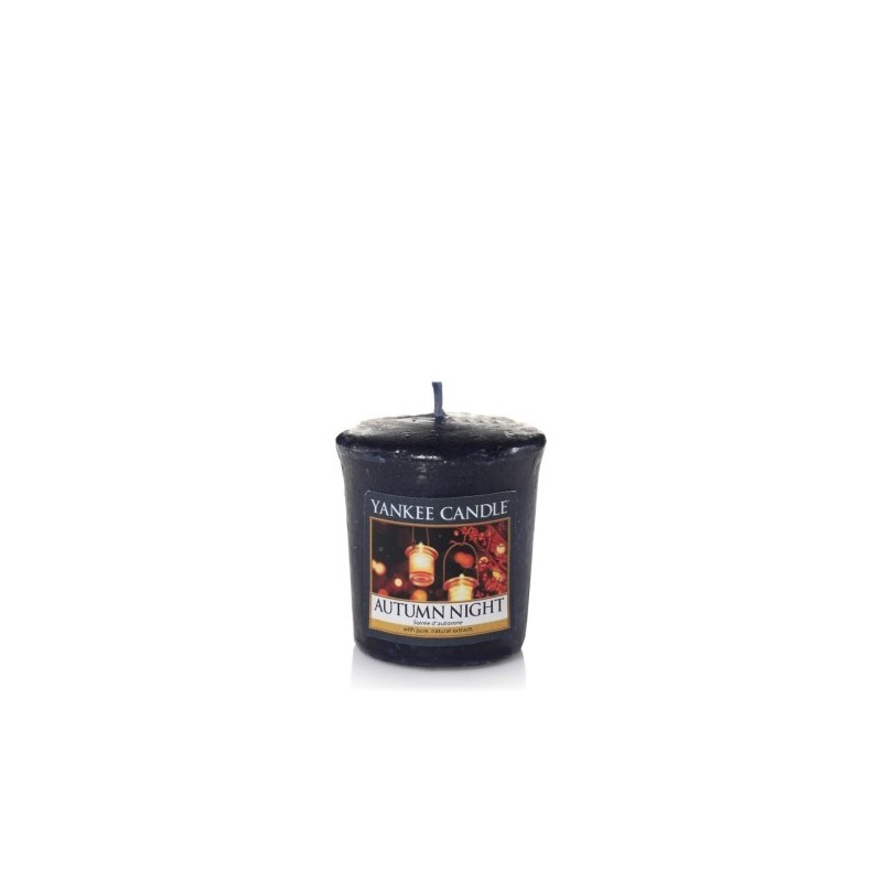 """autumn night"" Yankee Candle Sampler Mum 1510134E"