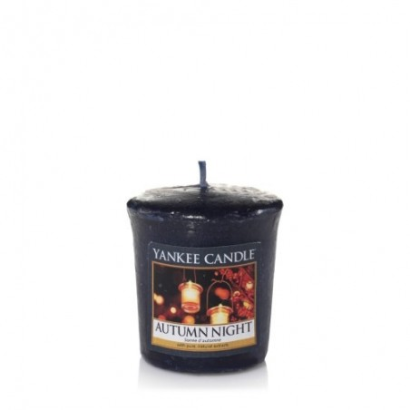 """autumn night"" Yankee Candle Sampler Mum"