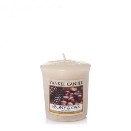 """Yankee Candle """"ebony & oak"""" Sampler Mum"""
