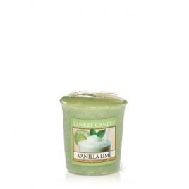 """vanilla lime"" Yankee Candle Sampler Mum"