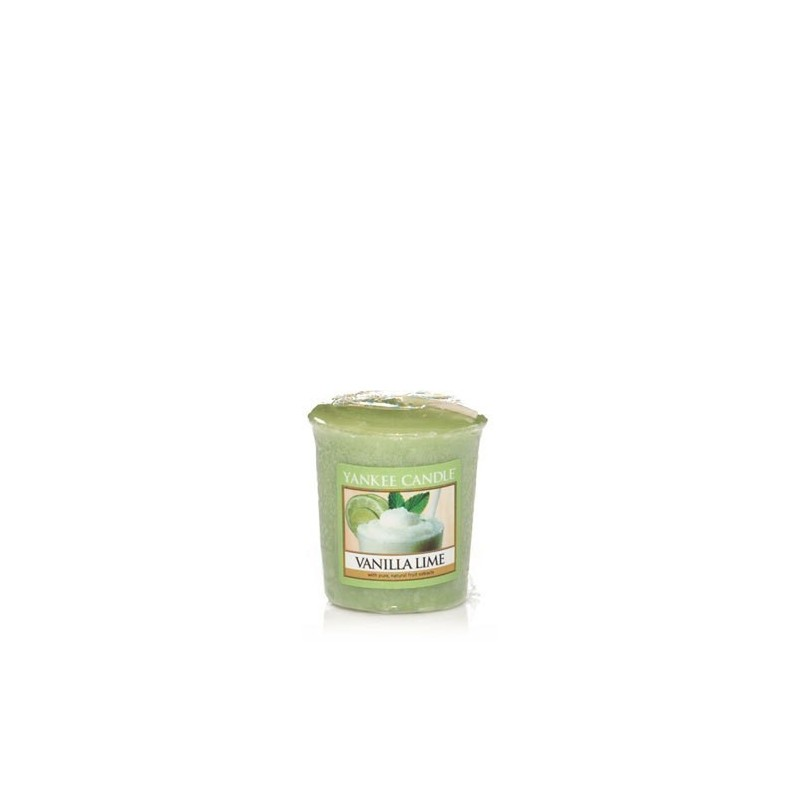 """vanilla lime"" Yankee Candle Sampler Mum 1107081E"