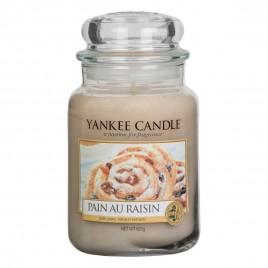 """""""Pain Au Raisin"""" Yankee Candle büyük Boy Kavanoz Mum"""