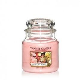 """""""fresh cut roses"""" Yankee Candle Orta Boy Kavanoz Mum"""