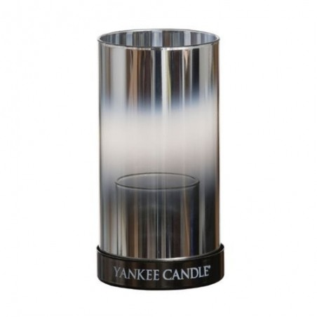 yankee candle sampler tutucu orta silver mirror