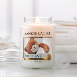 Yankee Candle   Soft Blanket · Büyük Boy - Kavanoz Mum