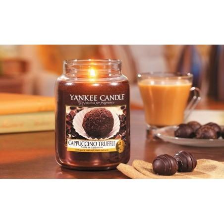 """cappuccino truffle"" Yankee Candle Büyük Boy Kavanoz Mum 1332225E"