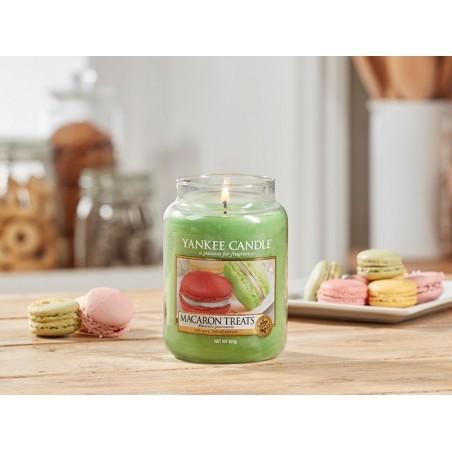 """macaron treats"" Yankee Candle Büyük Boy Kavanoz Mum 1521052E"