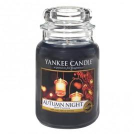 """""""autumn night"""" Yankee Candle Büyük Boy Kavanoz Mum"""