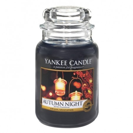 """autumn night"" Yankee Candle Büyük Boy Kavanoz Mum 1510124E"