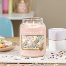 Yankee Candle | Rainbow Cookie · Büyük Mum