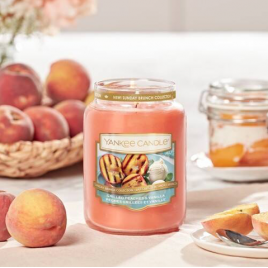 Yankee Candle Grilled Peaches & Vanilla