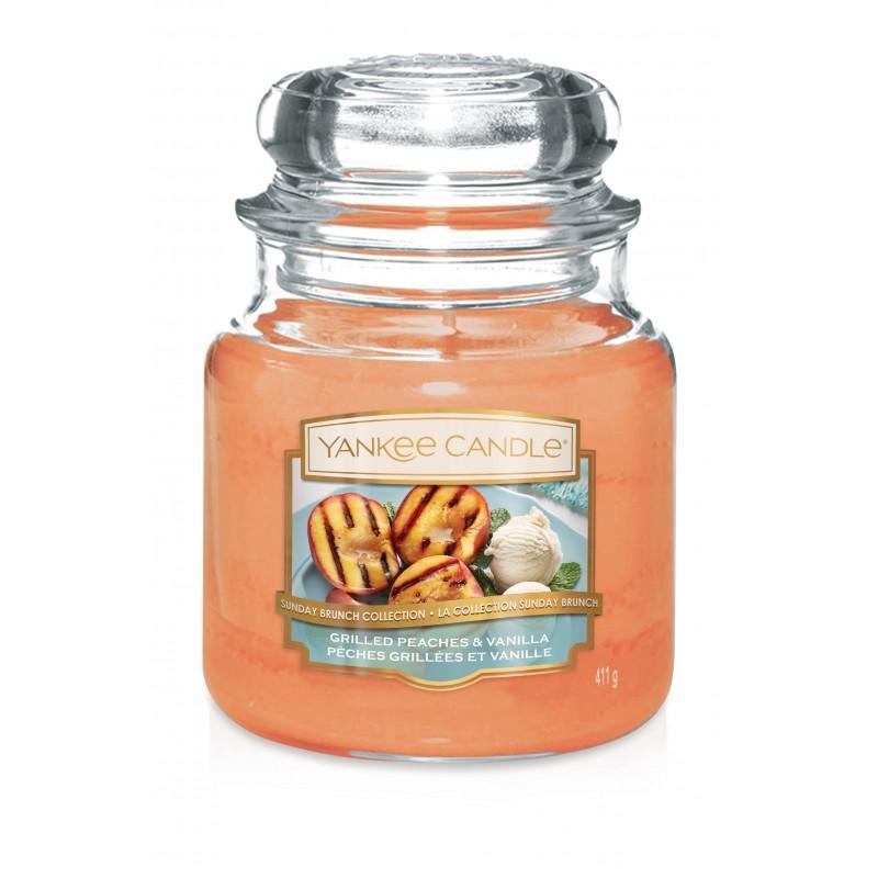 Grilled Peaches & Vanilla