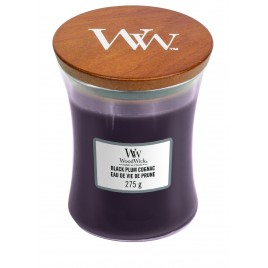 WoodWick® black plum cognac