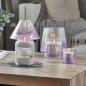 Yankee Candle savoy - purple crackle t/light & sampler