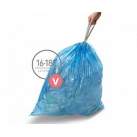 simplehuman® 16-18 Litre çöp poşeti (v)