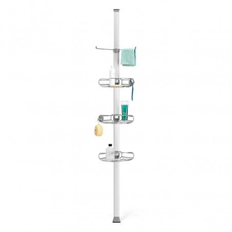 simplehuman® ayarlanabilir duş rafı 'gerginlik ayarlı' BT1062