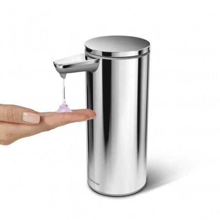 simplehuman | şarj edilebilir sensörlü sıvı sabunluk, parlak