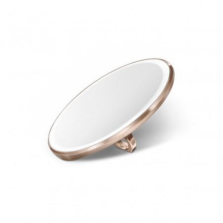 simplehuman   compact ayna 3X sensörlü, rose gold