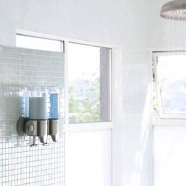 simplehuman | duvara monte sabunluk, ikili