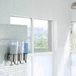 simplehuman | duvara monte sabunluk, üçlü