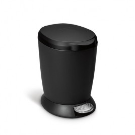 Simplehuman   6L Plastik Yuvarlak · Küçük Çöp Kutusu - Siyah · CW1319 - guruhomestore (TR)