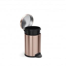 simplehuman   4.5L Yuvarlak Küçük Çöp Kutusu, Rose Gold