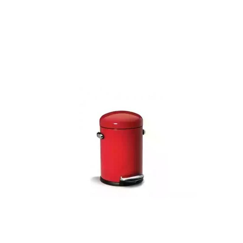 simplehuman   4.5L Retro · Küçük Çöp Kutusu · Kırmızı · CW1294 - guruhomestore (TR)