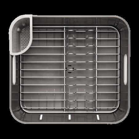 simplehuman | plastik compact bulaşıklık, gri