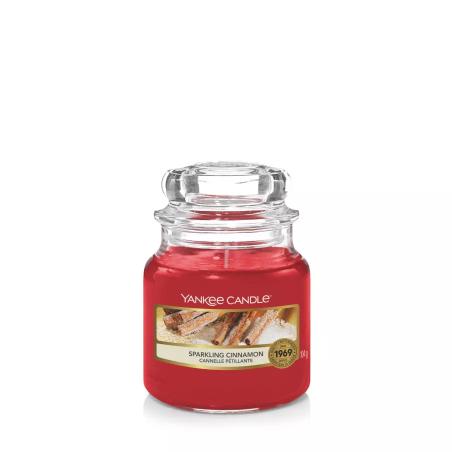 Yankee Candle    Sparkling Cinnamon · Küçük Boy - Kavanoz Mum