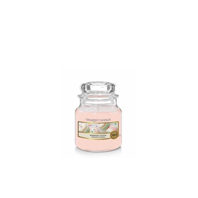 Yankee Candle | Rainbow Cookie · Küçük Boy - Kavanoz Mum · 1577139E - guruhomestore (TR)