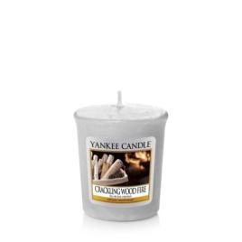 Yankee Candle   Crackling Wood Fire · Sampler Mum · 1556295E - guruhomestore (TR)