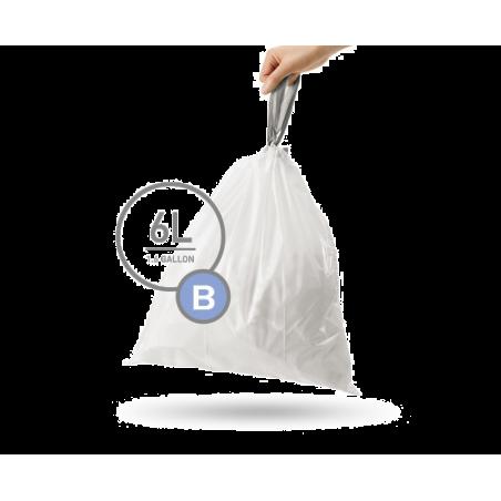 simplehuman® 6 Litre çöp poşeti (b)