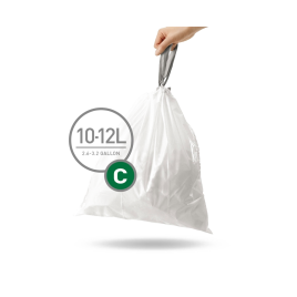 simplehuman® 10-12 Litre çöp poşeti (c)