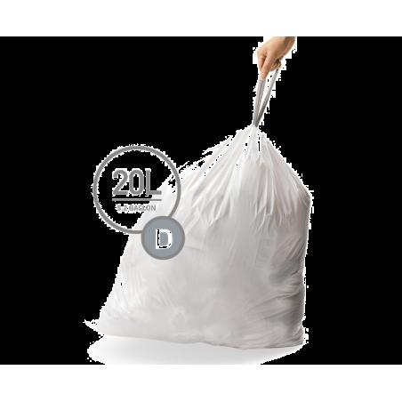 simplehuman® 20 Litre çöp poşeti (d)