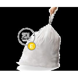 simplehuman® 20 Litre çöp poşeti (e)